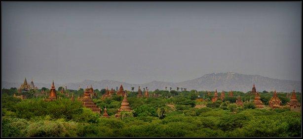 Hamparan Pagoda di Bagan