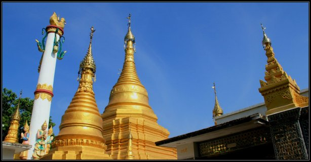Mandalay Hill Pagoda
