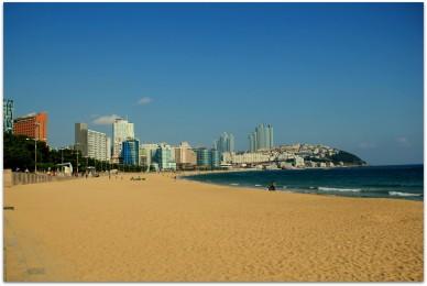 Haeundae Beach , Busan