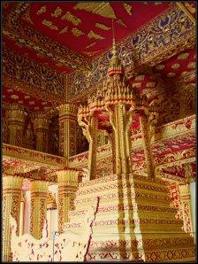 Inside Wat Haw Pha Bang