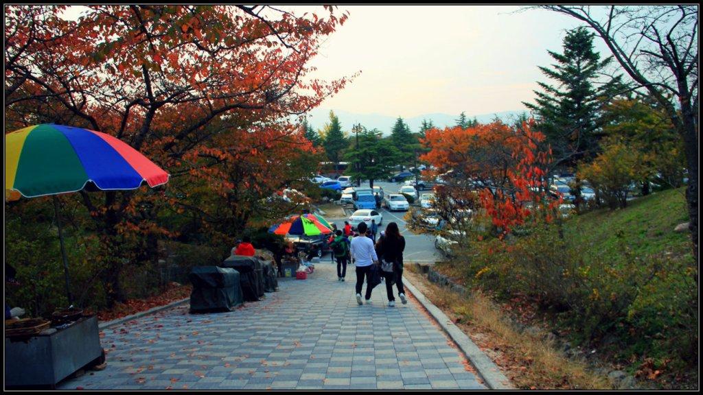 Jalan Kaki Menuju Bulguksa Temple