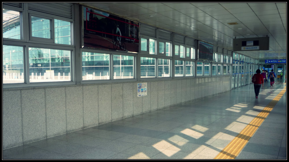 Lorong menuju Main Hall Stasion KTX Daegu