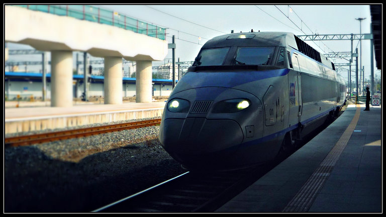 KTX Kereta Super Cepat Korea Selatan