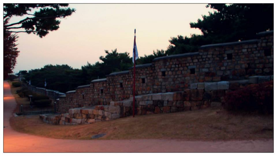 A part of 5.5km of the Hwaseong Fortress