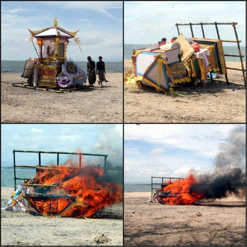 Ngaben, Dengan Api Memutuskan Ikatan Duniawi