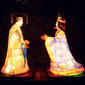 King Danjong, who was dethroned, and Queen Jeongsun are reunited here