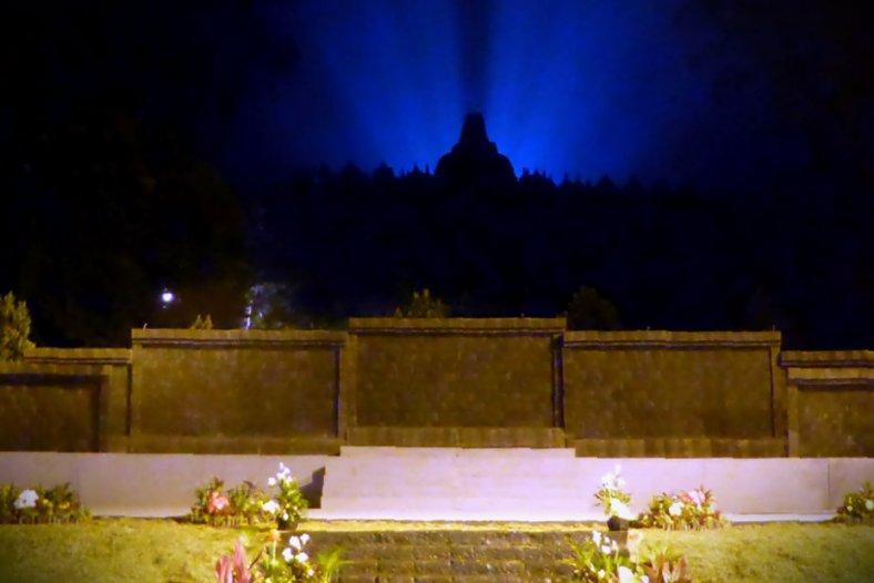 Mahakarya Borobudur - Aksobya Stage