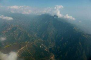 Pegunungan Menjelang Kathmandu