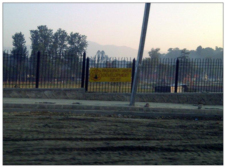 Perbaikan Jalan di sekitar Area Kuil Pashupatinath