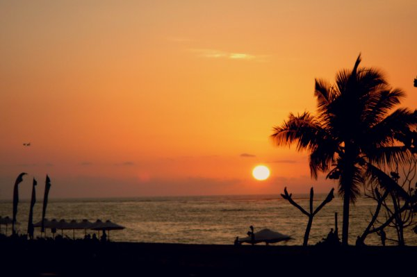 Sunset in Kuta Beach, Bali, Indonesia - Heaven on Earth...