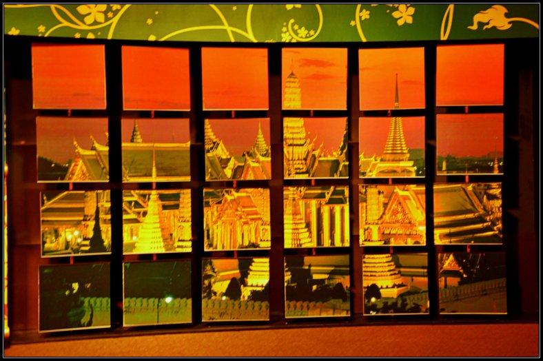 Puzzled Wall in MadameTussauds Bangkok