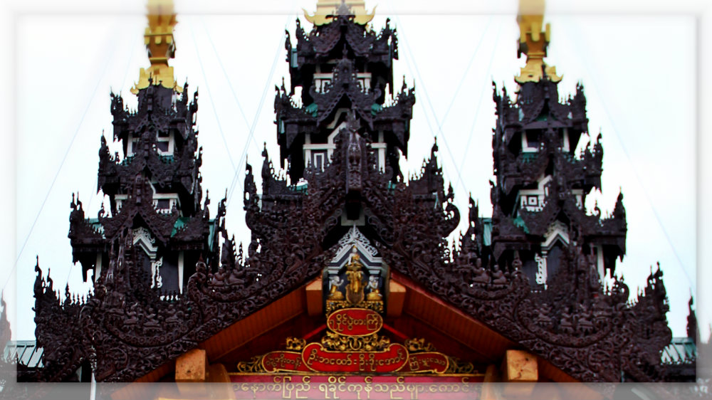 Mandalay Roof in Shwedagon