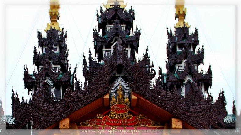 Mandalay Roof in Shwedagon