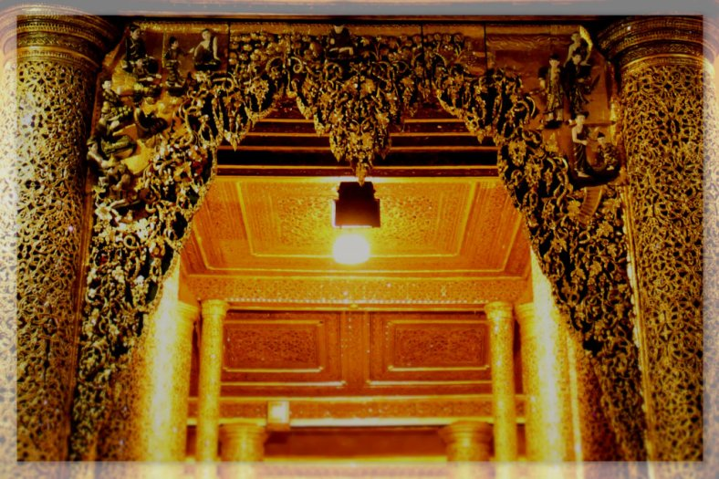 Gate of Prayers' Hall - Shwedagon