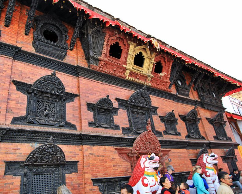 Kumari Ghar and the Lions