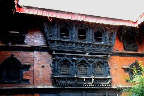 Another wall of the Kumari Ghar