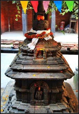 A shrine in Kumari Chowk