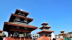 3 Icons Durbar Square  in Memoriam: Trailokya Mohan Narayan - Maju Dega - Narayan temple