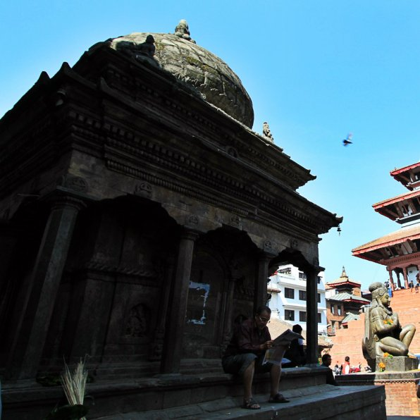 Bimaleshwar Temple - kini menemani Sang Garuda