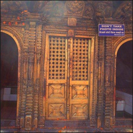 Golden door of Changu Narayan, Bhaktapur, Nepal