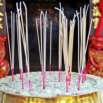 Incenses in Cheng Hoon Teng temple