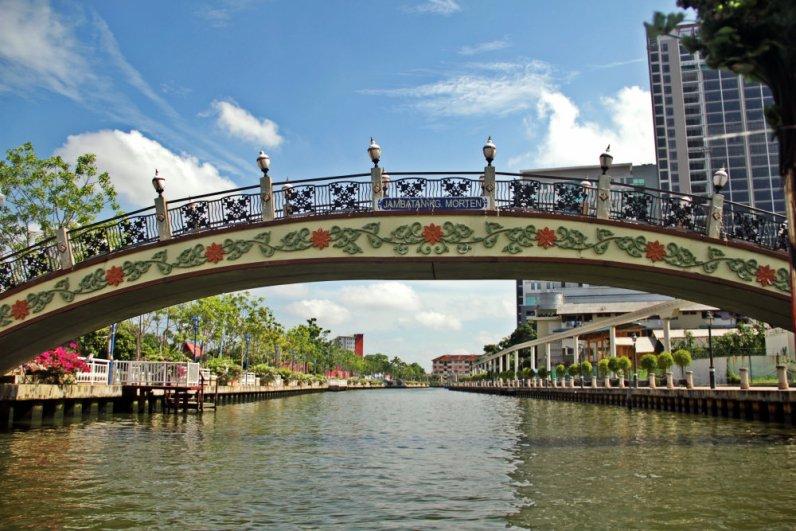 Melaka River Cruise near Kp. Morten