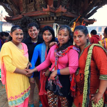 Nepali's girls happiness on Haribodhini Ekadashi