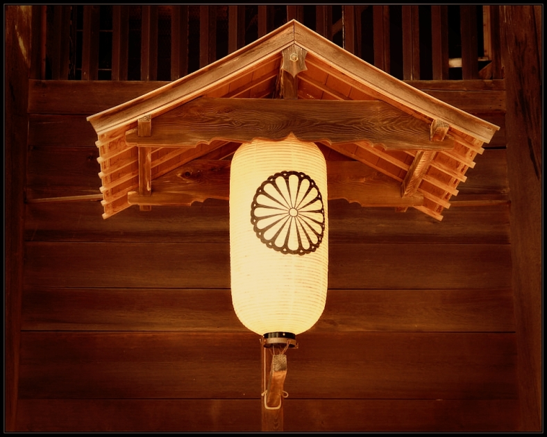 A Lamp in Todaiji Temple, Nara, Japan