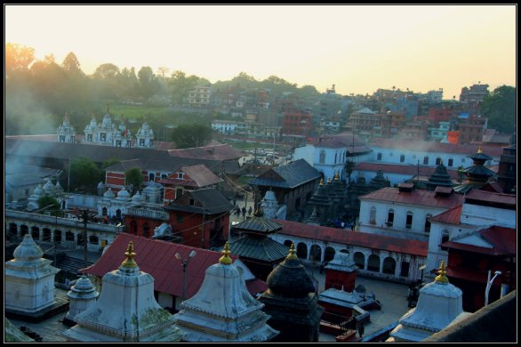 Pashupatinath from the top