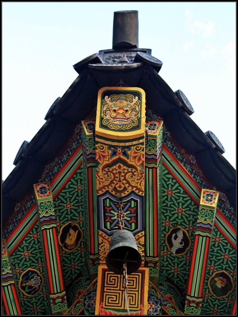 The Roof's Corner of Haeinsa Temple