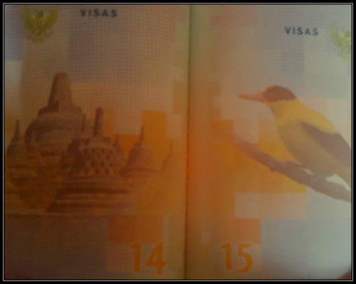 Indahnya Indonesia di Halaman Dalam Paspor