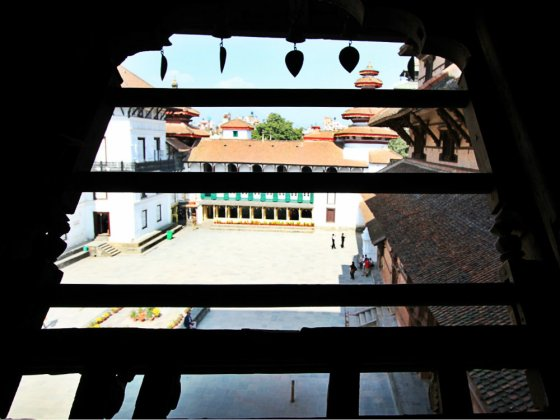 Nasal Chowk View from the 4th Floor
