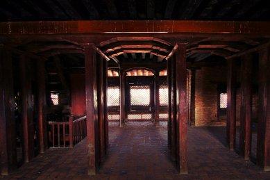Inside Basantapur