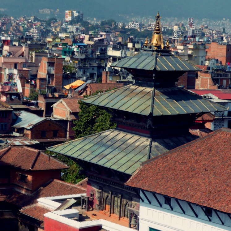 Taleju Temple from Basantapur