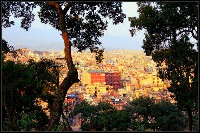 Kathmandu from Pashupatinath Hill