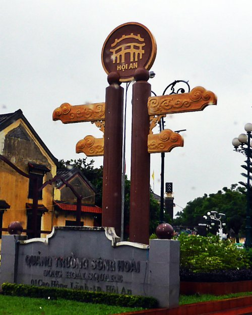 A Monument in Hoi An