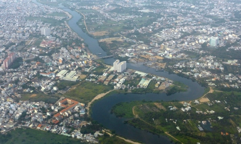Ho Chi Minh City from Above