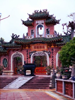 Chua Phuc Kien, Temple dedicated to Thien Hau
