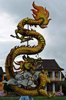 Dragon at An Hoi Sculpture Park