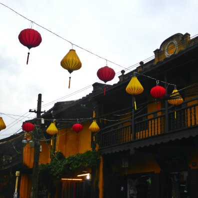 Lanterns above the lanes