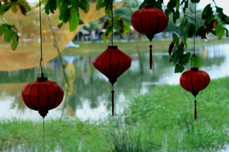 The Hanging Lanterns