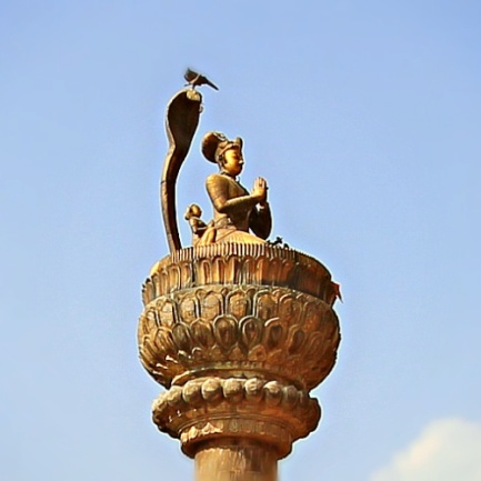 The Statue of King Yognarendra Malla