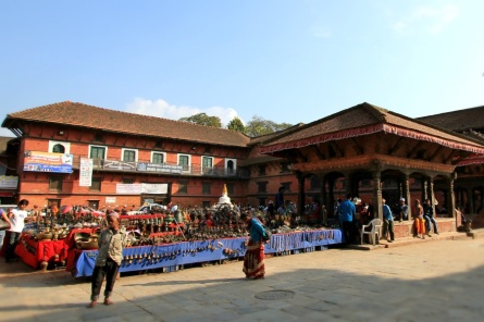 Market in front of Bhimsen Temple