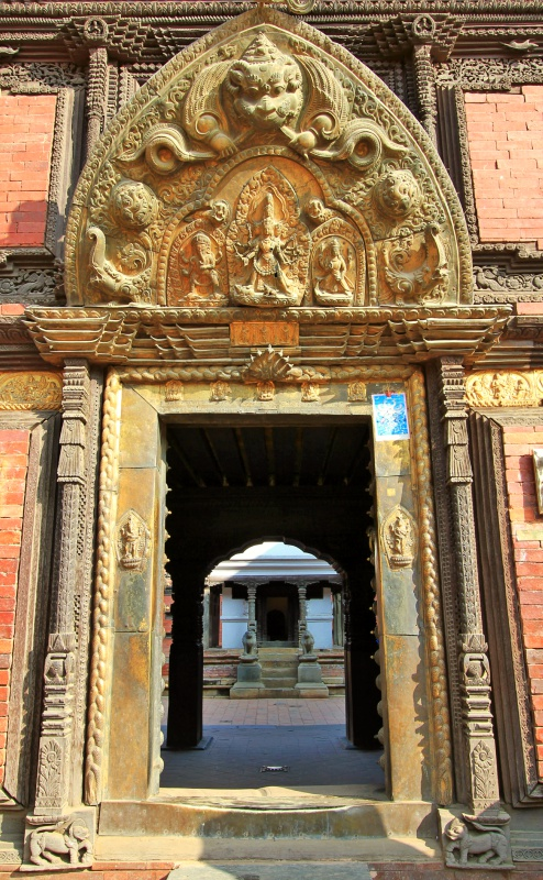 The Golden Door of Patan Royal Palace