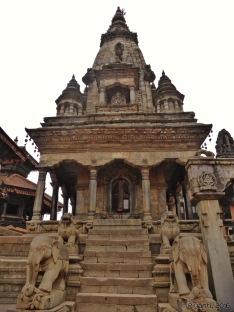 Completed Destroyed The 17th century Vatsala Durga in Bhaktapur