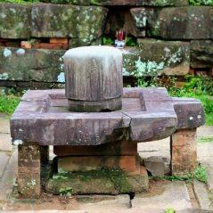 Shiva Lingam in the Main Temple