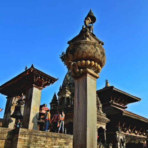 Bhupatindra Malla's Column, Bhaktapur