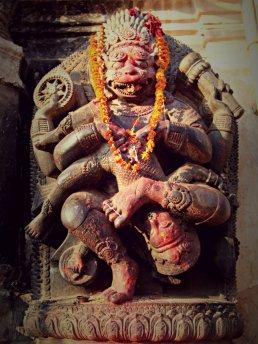 Vishnu as Narsingha, National Art Gallery, Bhaktapur