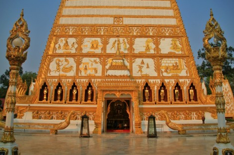The tales of Jataka on Wat Phra That Nong Bua