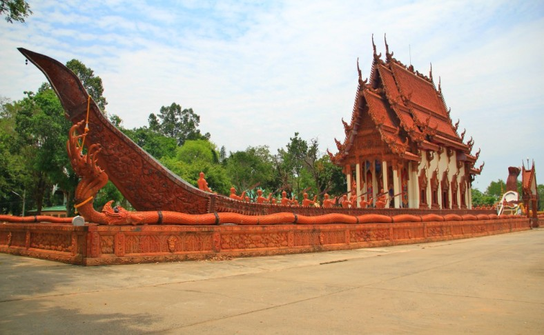 The Main 'Barge' of Wat Ban Na Muang, Ubon Ratchathani